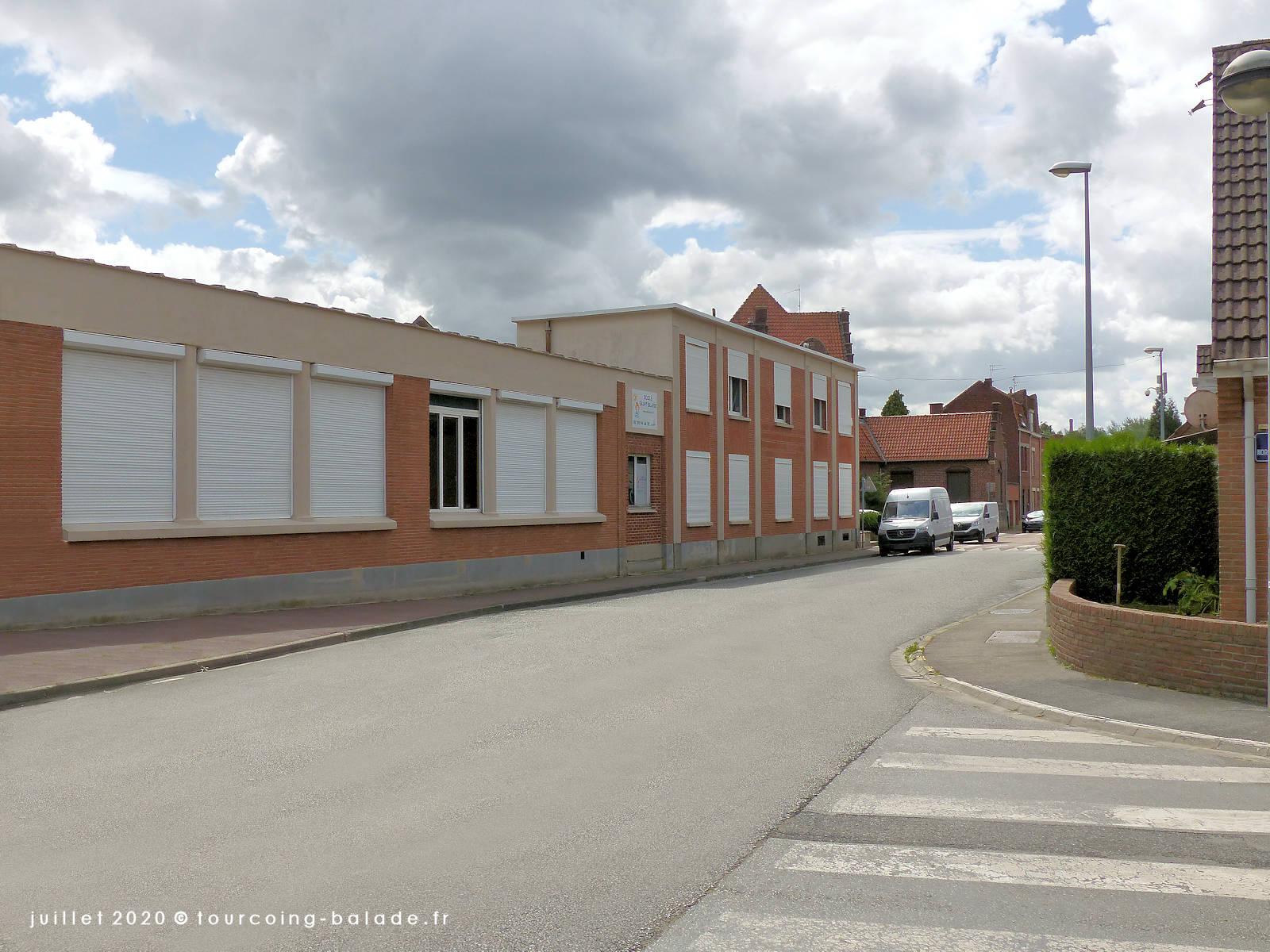 Rue du Clinquet, Tourcoing 2020