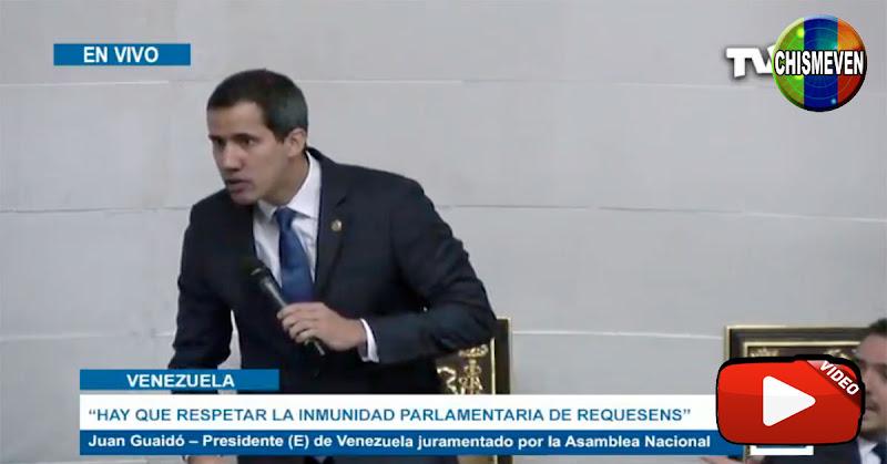 Guaidó le dio con todo a los Chavistas del PSUV en el Circo de la Asamblea Nacional