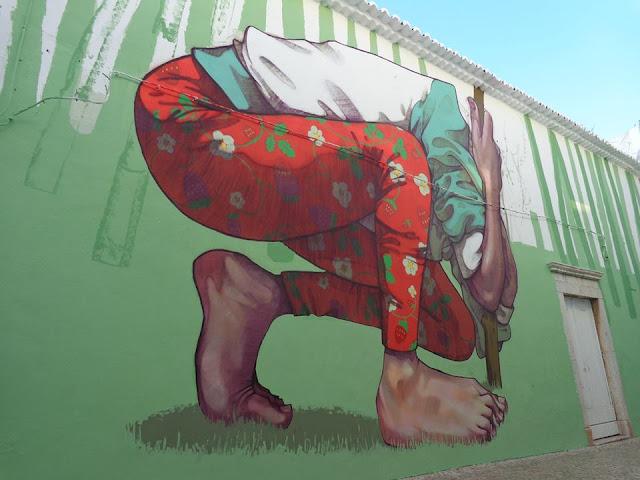 Street Art By Bezt From Etam Cru For Arturb Urban Art Festival In lagos, Portugal. 7