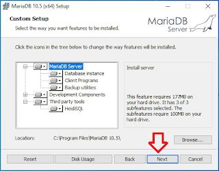 Cara Instalasi MariaDB