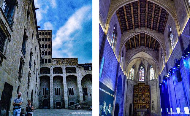 Palácio Real de Barcelona e Capela de Santa Ágata