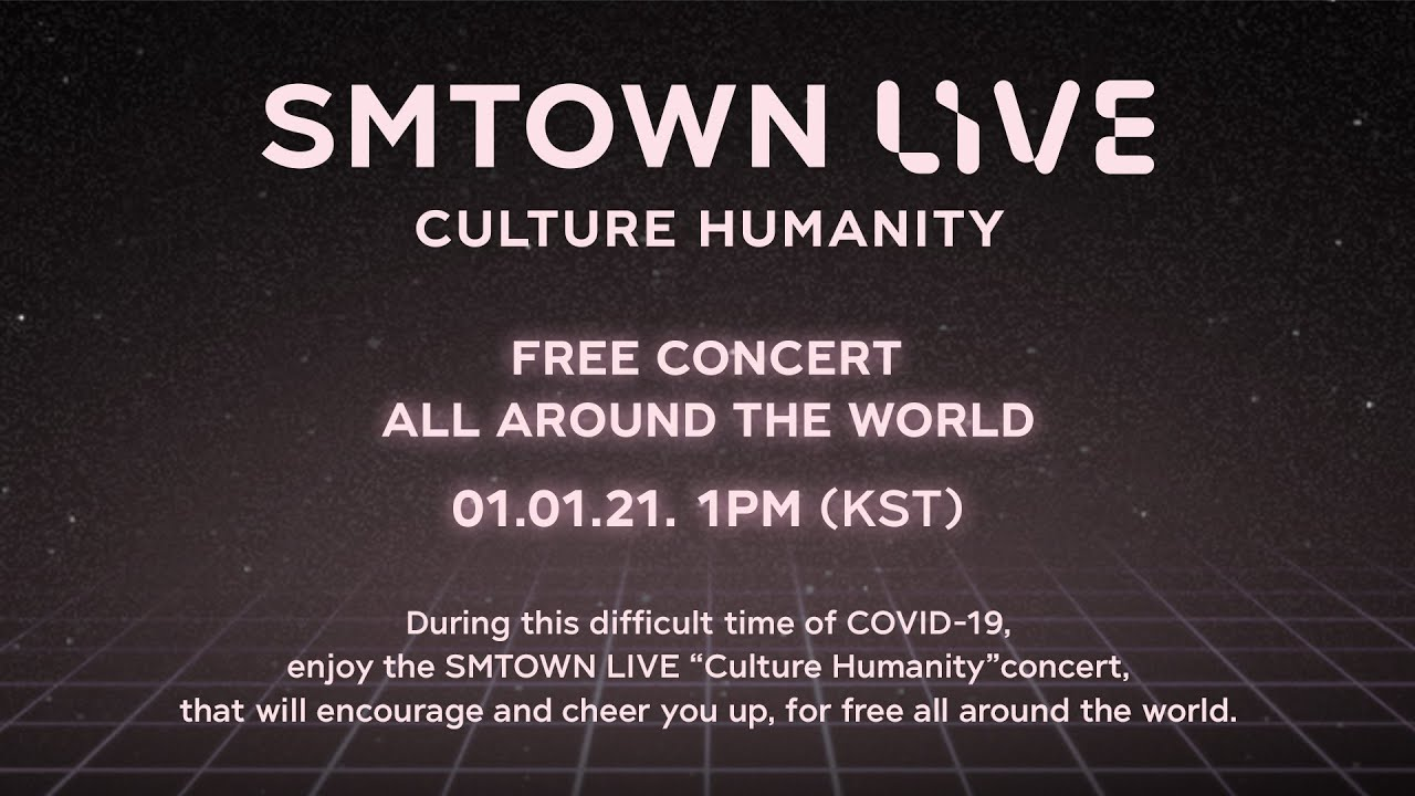 Watch 'SMTOWN LIVE Culture Humanity' Free Live Streaming Here!