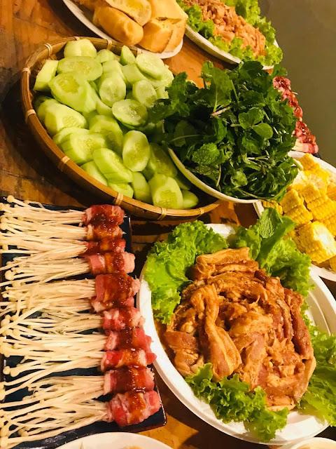Món ăn tại Tokyo Đà Lạt