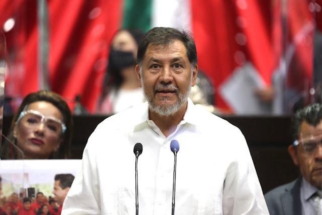 diputado Gerardo Fernández Noroña (PT)