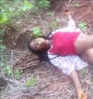 Residents of Igboeze north local government area of Enugu state, have been gripped with fear after a lady was found dead in a bush in the community.