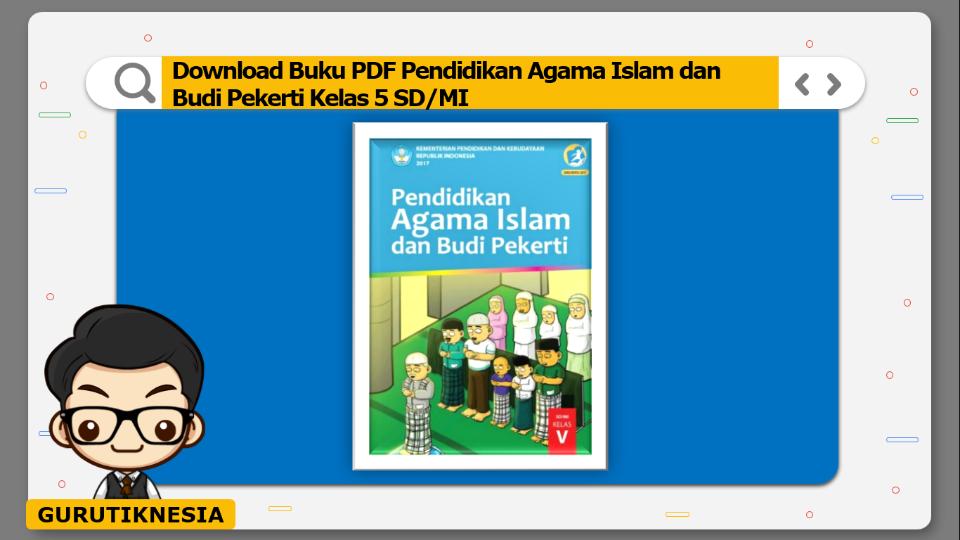 download buku pdf pendidikan agama islam dan budi pekerti kelas 5 sd/mi