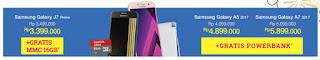 Samsung J series dan seri A 2017 Mayday Summarecon Mal Serpong