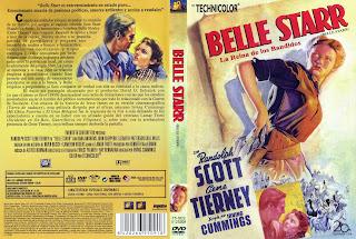 Belle Starr / Carátula