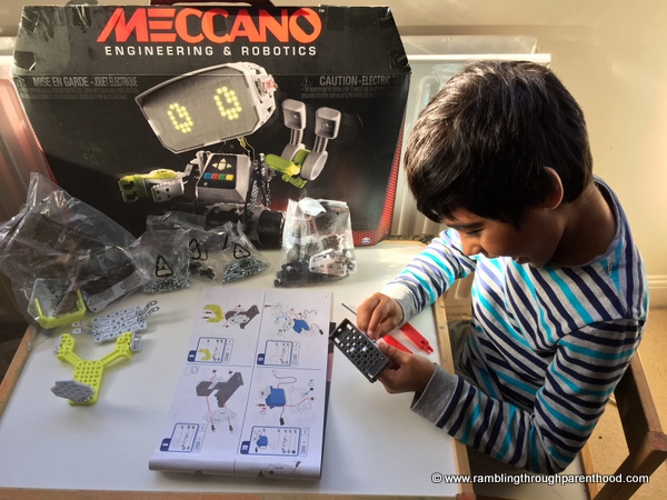 rambling through parenthood meccano m a x the interactive toy but that is the whole point of a toy like m a x it is designed to encourage interest in stem subjects and the one thing you need in abundance when studying