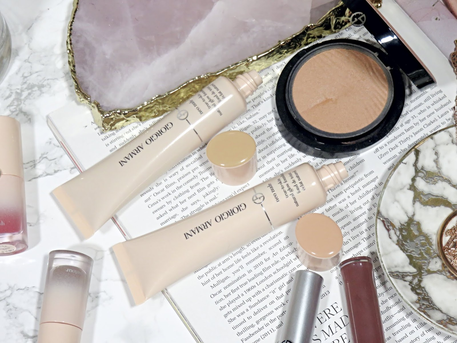 Giorgio Armani Beauty Neo Nude Foundation Review and Swatches