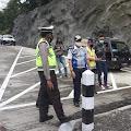 Jelang Libur Panjang, Satlantas Polres Purbalingga Bersama Dinas Terkait Cek Jalur Penyelamat
