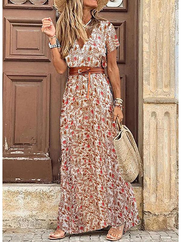 Vestidos Longos Estilo Praiano para o Verão
