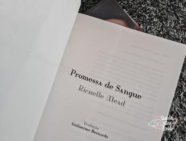 Resenha: Promessa de Sangue - Richelle Mead
