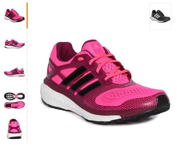 824a08719568f Mestre OFFertas   kanui  Tênis Adidas Energy Boost ESM W - Rosa ou preto