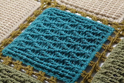 crochet with  texture