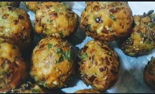 Deep fried veg manchurian balls