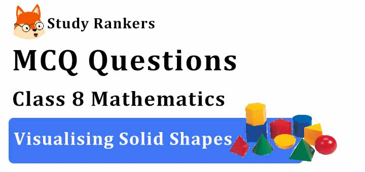 MCQ Questions for Class 8 Maths: Ch 10 Visualising Solid Shapes