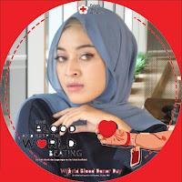 Kumpulan Gambar Twibbon Hari Donor Darah Seduni 14 Juni Keren