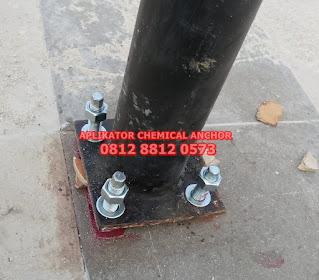 Harga Jasa Pasang Chemical Anchor