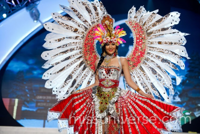 national costume miss universe indonesia