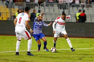 مباراة الزمالك وبيراميدز ضمن مباريات كأس مصر 2019