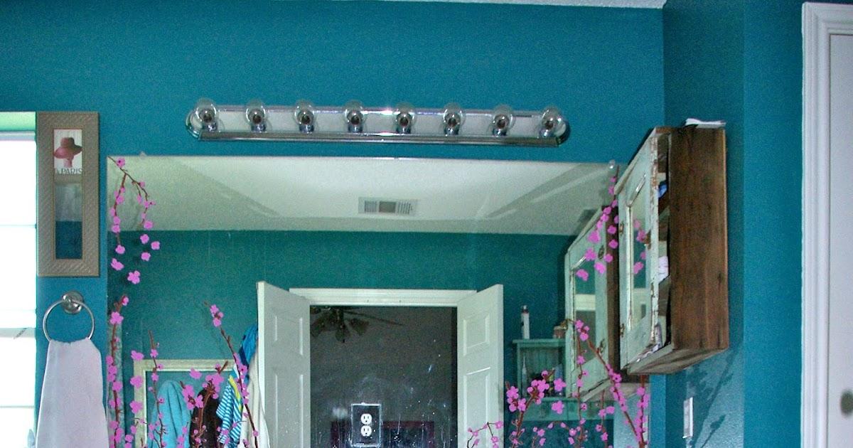 Skinny Meg Refinished Bathroom Cabinets