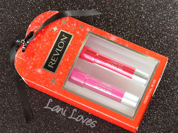 Revlon Perpetual Bliss Gift Set - Colorburst Matte & Lacquer Balm Swatches & Review