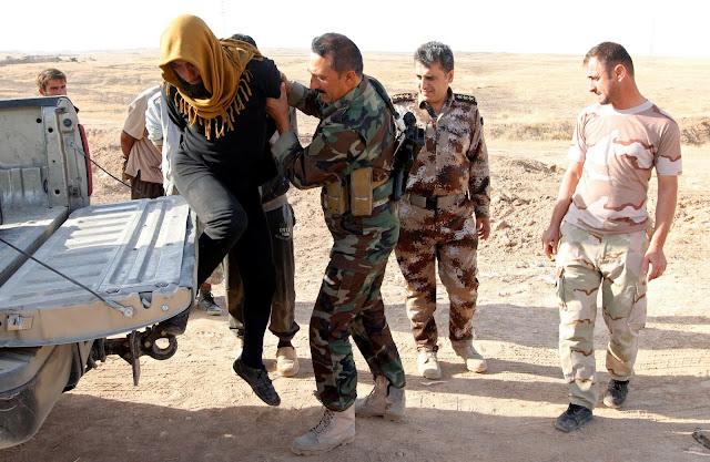 چوار چەکداری داعش لە كەركووك دەستگیرکران