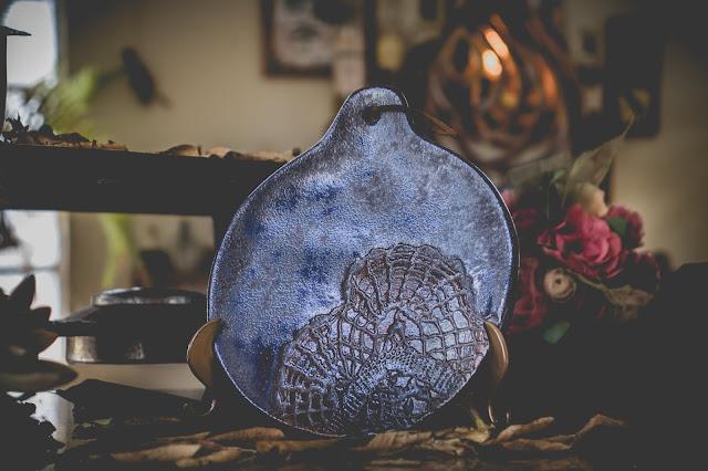 Petisqueira de cerâmica