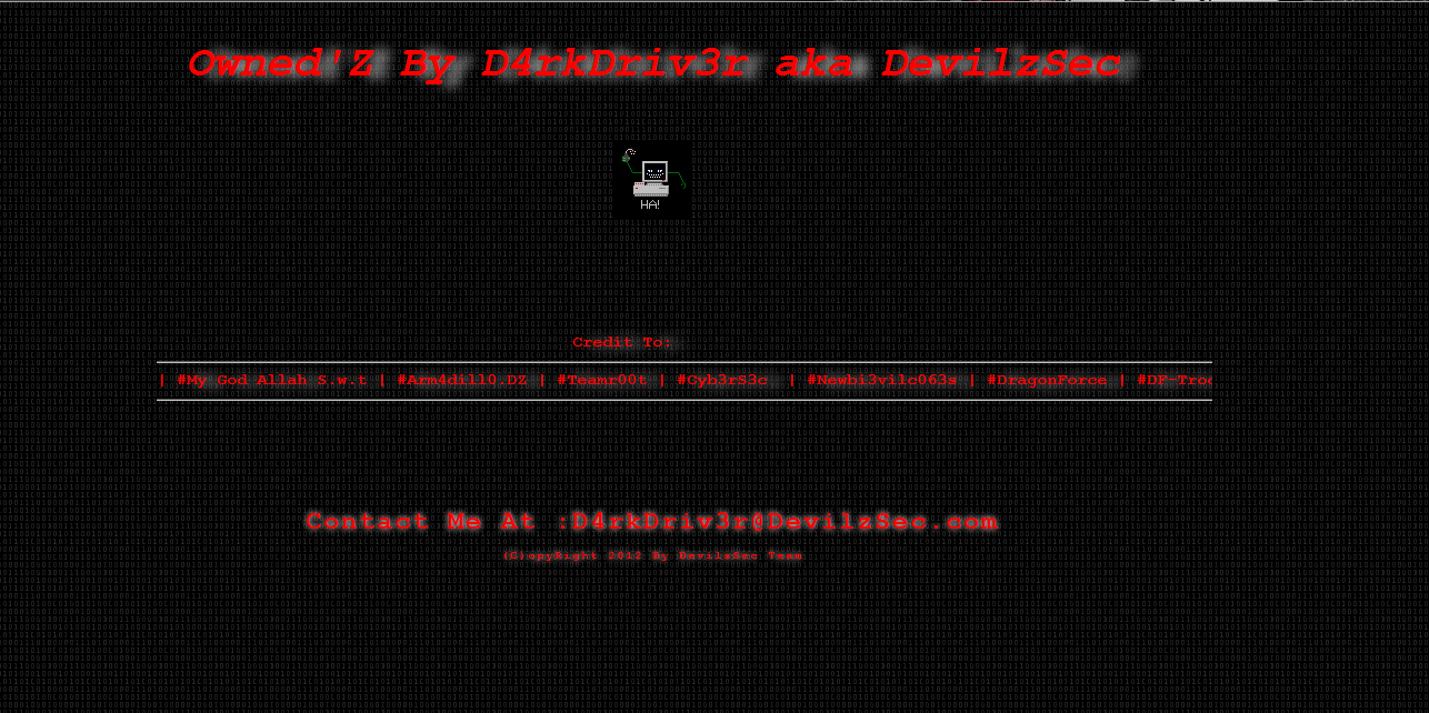 BaBa WebSite: 140+ Malaysian Site Hacked and Defaced By