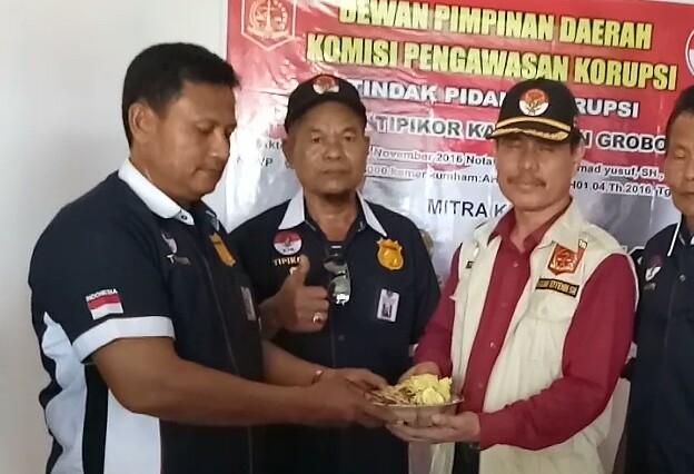 Tumpengan Pembukaan DPD KPK Tipikor Kabupaten Grobogan