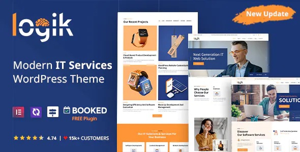 Best Premium IT Solutions and Technology WordPress Theme