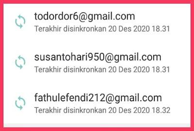 Sinkron Akun Gmail biar Aman