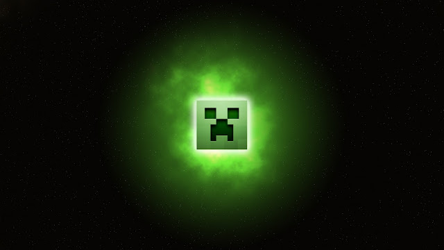 creeper flotando
