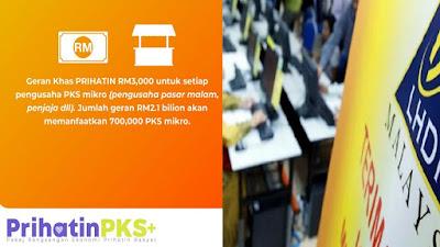 Tarikh Pembayaran Geran Khas Prihatin GKP Mulai 15 Jun 2020