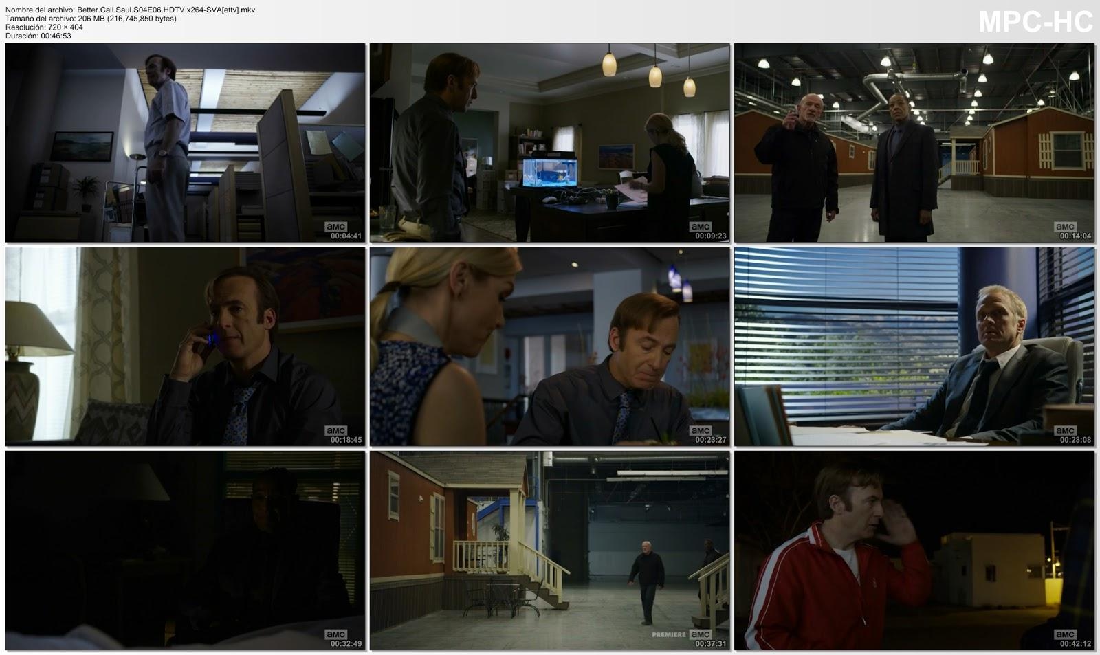 Capturas del episodio