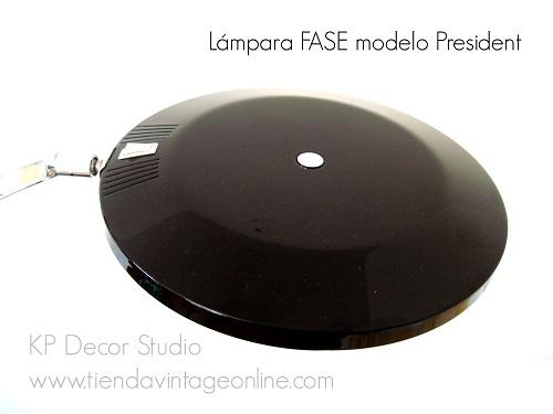 Comprar lámpara fase modelo president vintage años 60 70 decoración revista