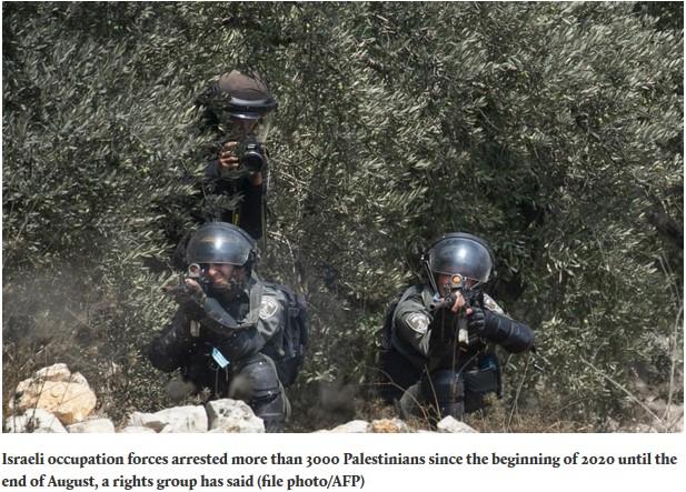 Israel tangkap ribuan warga palestina