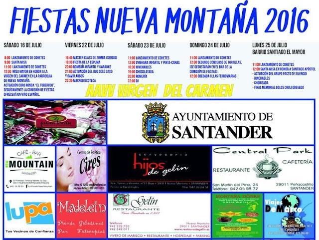 Fiestas de Nueva Monta�a 2016