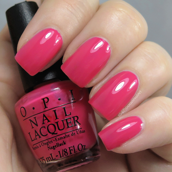 OPI Strawberry Margarita from the 2006 Mexico Collection