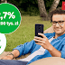 3,5% na 12 miesięcy + 2,7% do 200 tys. zł na koncie oszczędnościowym w Getin Bank (+50 zł na start)