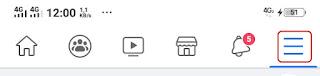 Facebook dark mode android