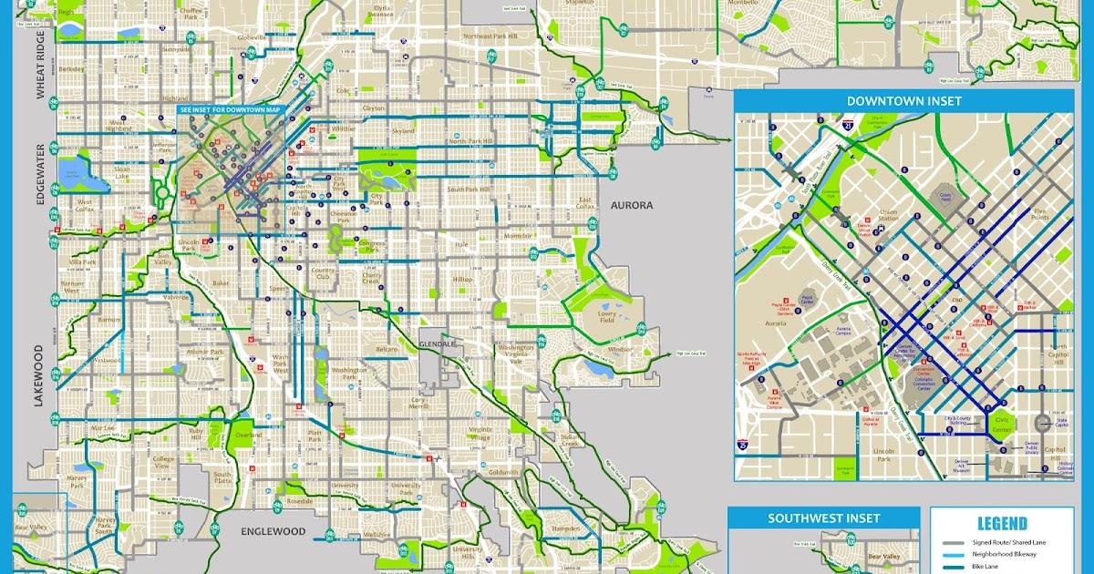 Denver, Colorado Map - Car Radio | GPS on