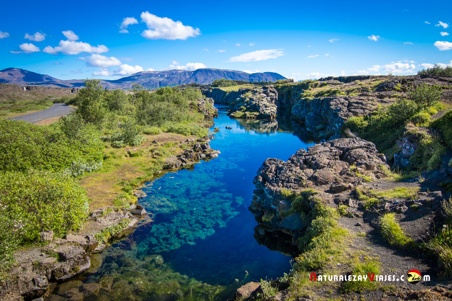 Flosagjá, Islandia