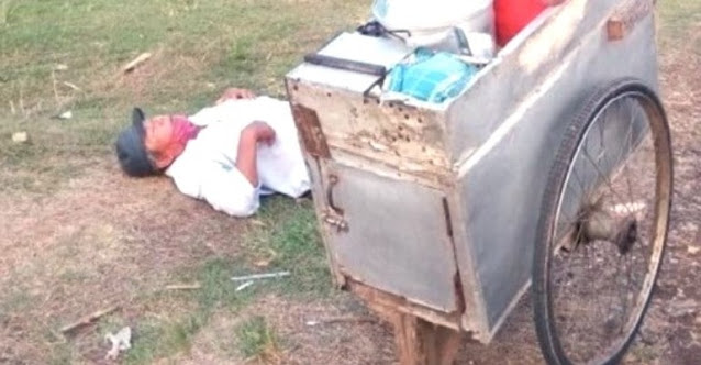 Bapak Penjual Bubur Ini sampai Nangis, Dagangan Jarang Laku dan Belum Makan hingga Sore