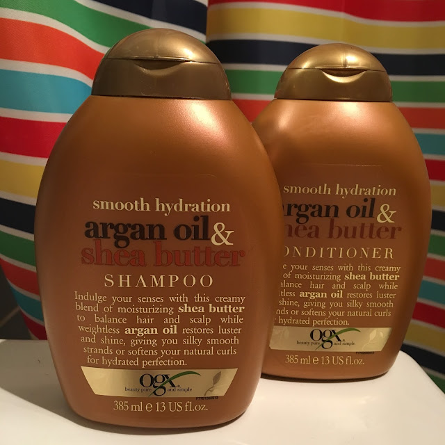 OGX Argan oil & Shea Butter