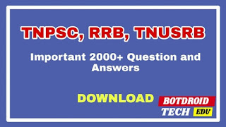 tnpsc rrb model question paper with answer in tamil