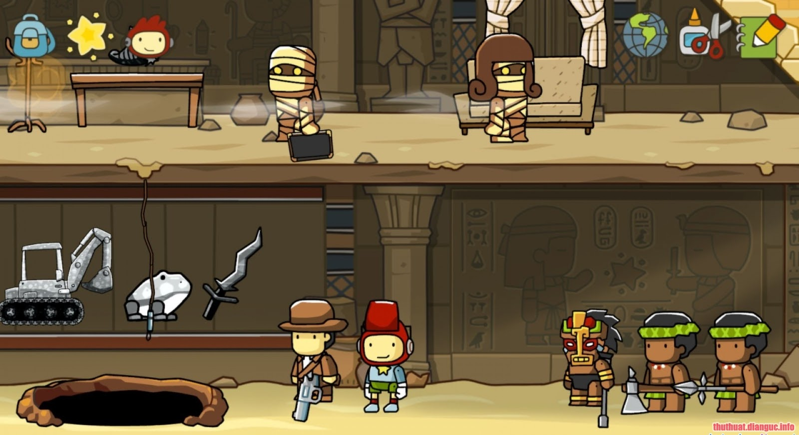 Game Scribblenauts Unlimited full key download