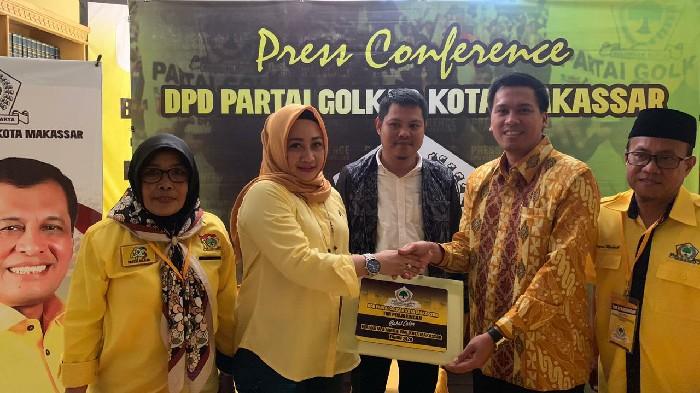Cucu Almarhum Arifin Noor Daftar Balon Walikota Makassar, Anshar Ilo : Semoga Golkar Tak Lupakan Sejarah!