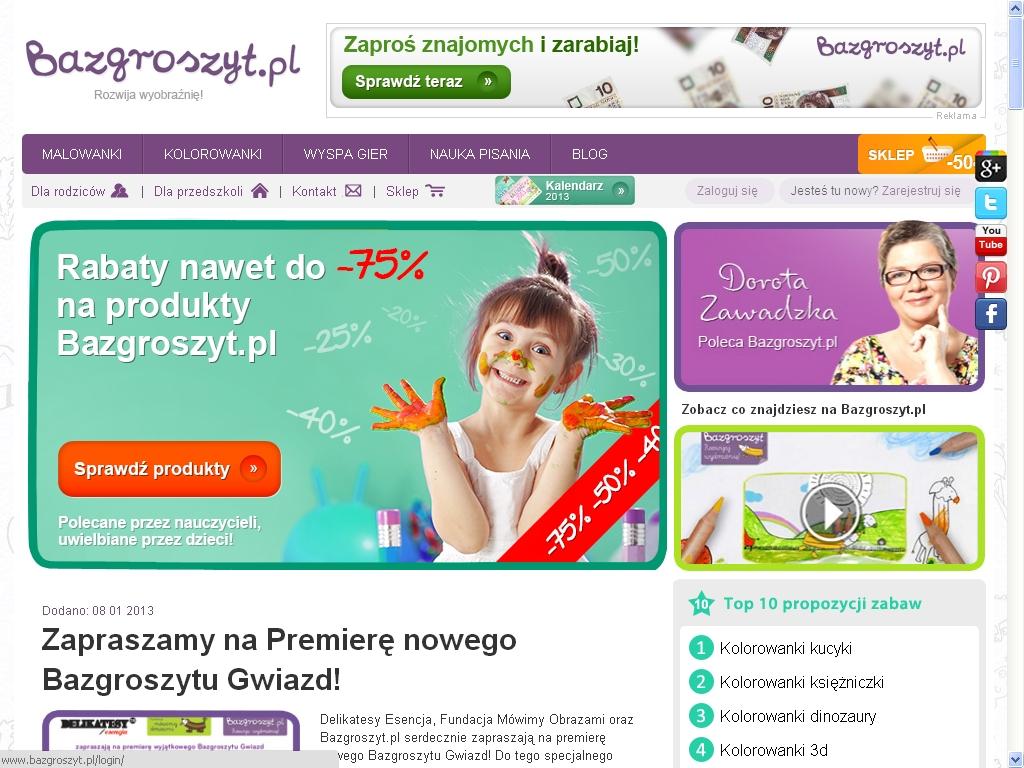 Bazgroszyt Pl Szlaczki Kolorowanki I Pisanki Super Obrazki